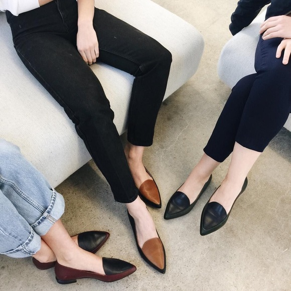 6fce41de828 Everlane Shoes - Everlane modern point loafer in black